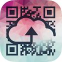 Cloud QR icon