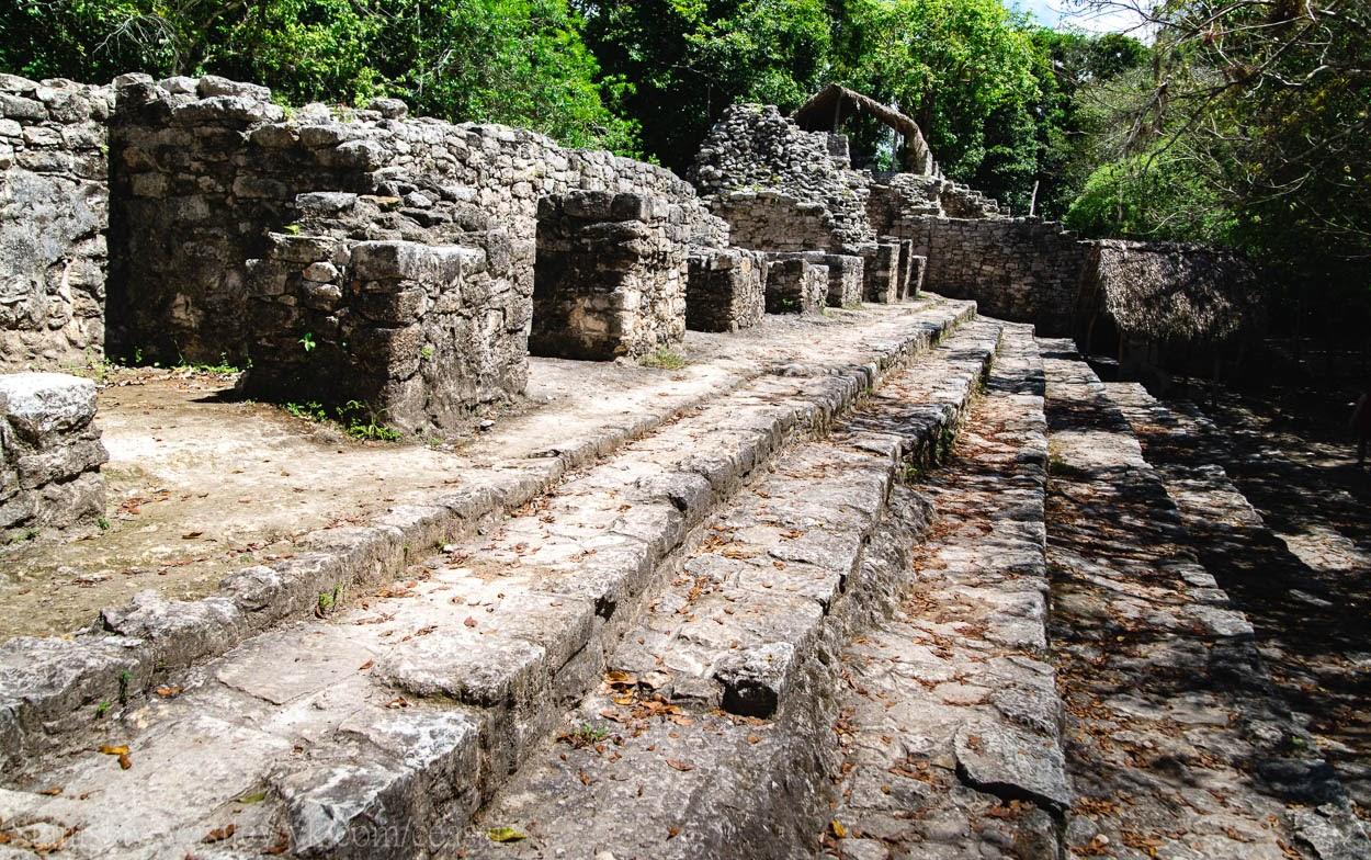 Коба, руины