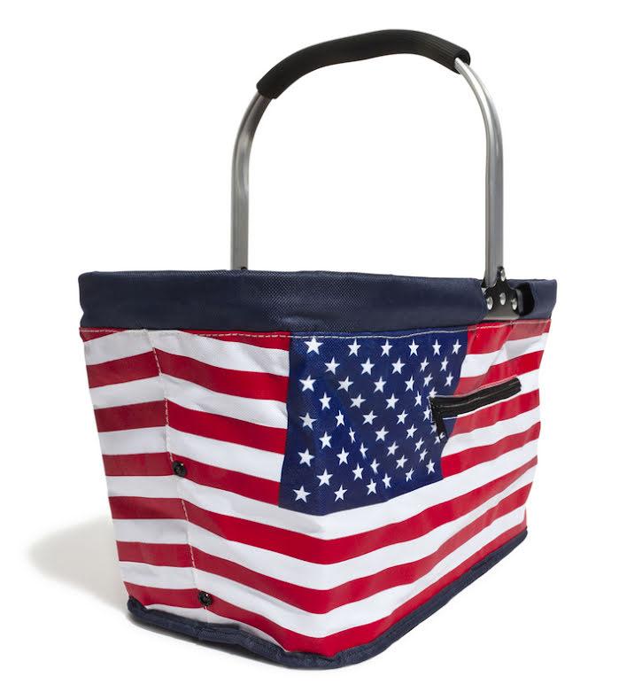 Picknickkorg Carry ihopvikbar - Stars & Stripes