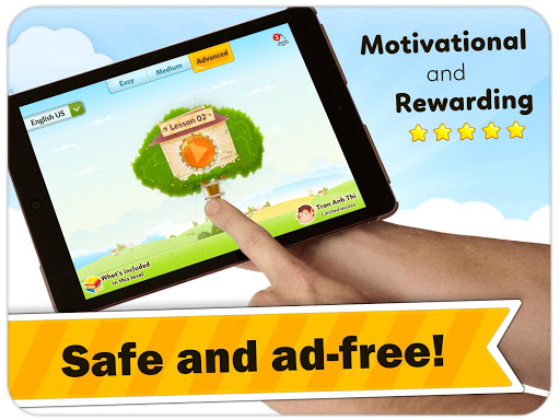 Monkey Junior: Learn to read English, Spanish&more app (apk) free download for Android/PC/Windows screenshot