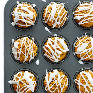 Wholesome Carrot Muffins.