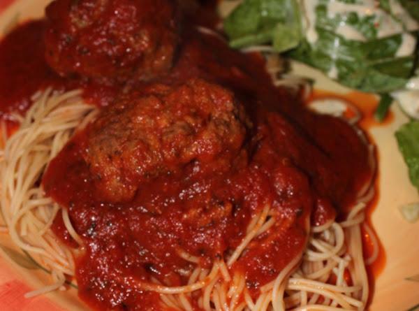 Mama's Best Ever Spaghetti & Meatballs Recipe