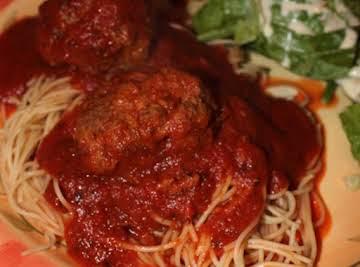 Mama's Best Ever Spaghetti & Meatballs