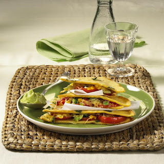 Pancake Quesadillas with Guacamole