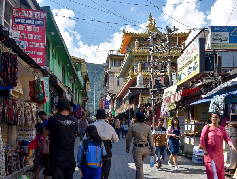 buddhist+temple+mcloedganj+tourist+places+in+ Dharamshala Mcleodganj himachal+pradesh