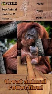 skládačka zoologická zahrada - náhled