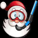 Scuba Santa icon