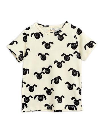 Mini Rodini Rabbit T-shirt Svart
