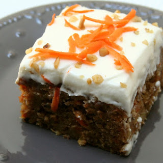 Pineapple Rum Carrot Cake.