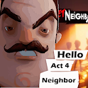 Walkhtrought For Hello Neighb0r Alpha Secret icon