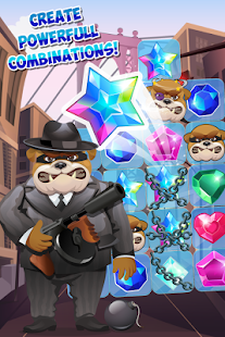 Jewels Detective Match 3 - náhled
