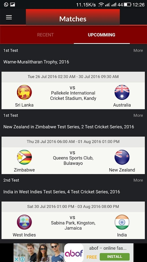 Cricket Buzz - live score fast- screenshot