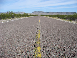 Photo: On the road to Big Bend