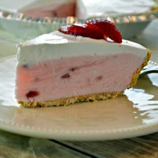 Strawberry Creme Pie.