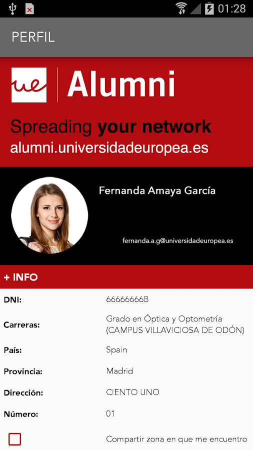 Univ. Europea- screenshot