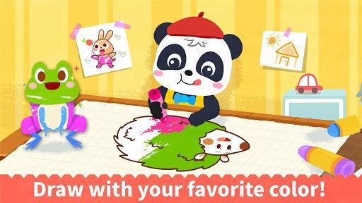 Baby Panda's Coloring Book apkpoly screenshots 14