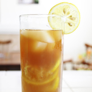 Skinny Honey Lemon Iced Tea