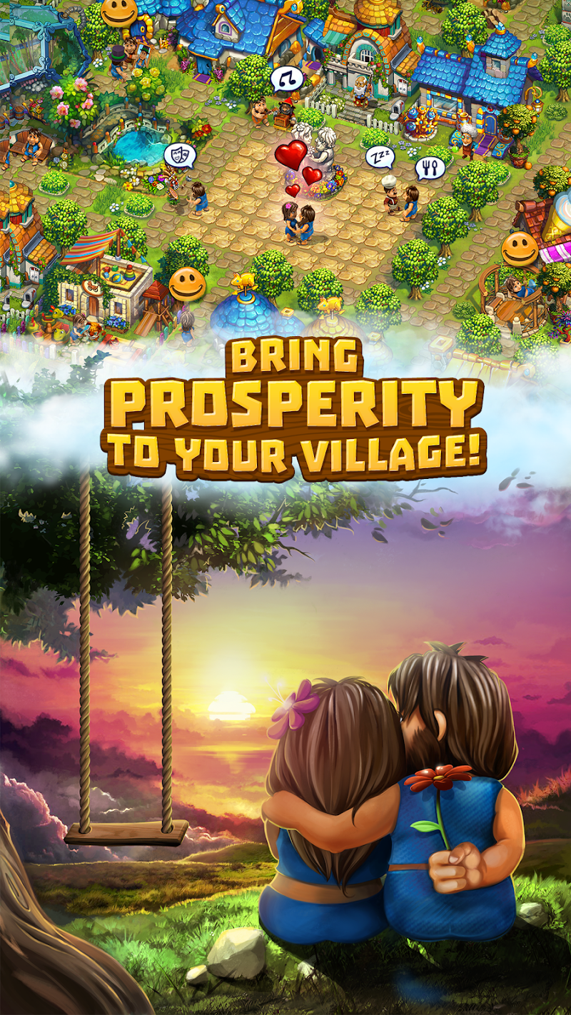 The Tribez: Build a Village Screenshot 2