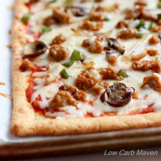 Low Carb Supreme Pizza