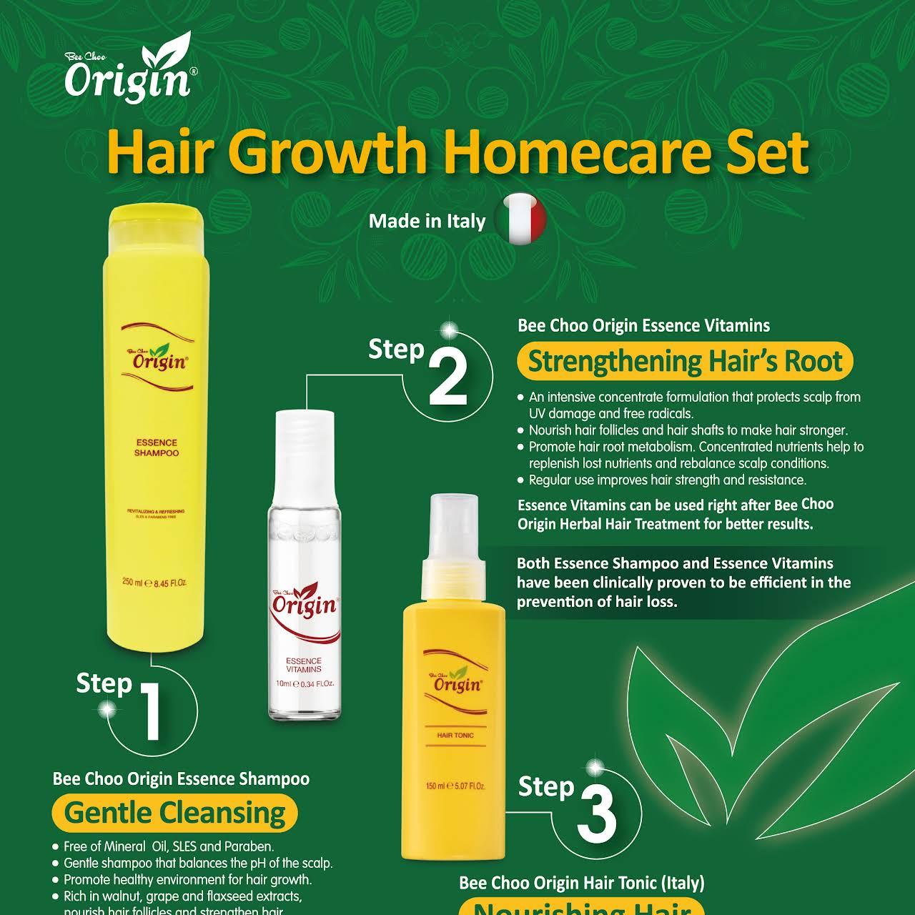 Origin Herbal Hair Treatment Seri Kembangan - 100% Safe, Natural and