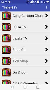 Thailand TV All Channels HD ! - AppRecs