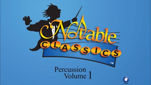 Notable Classics Percussion V1