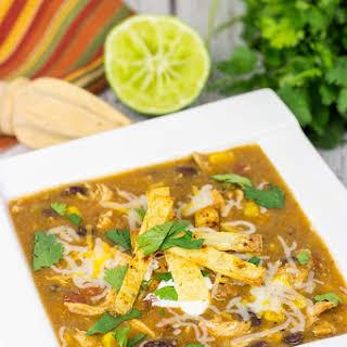 Chicken Enchilada Soup.