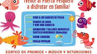 II Jornada de Puertas Abierta de Pescadores Almería.