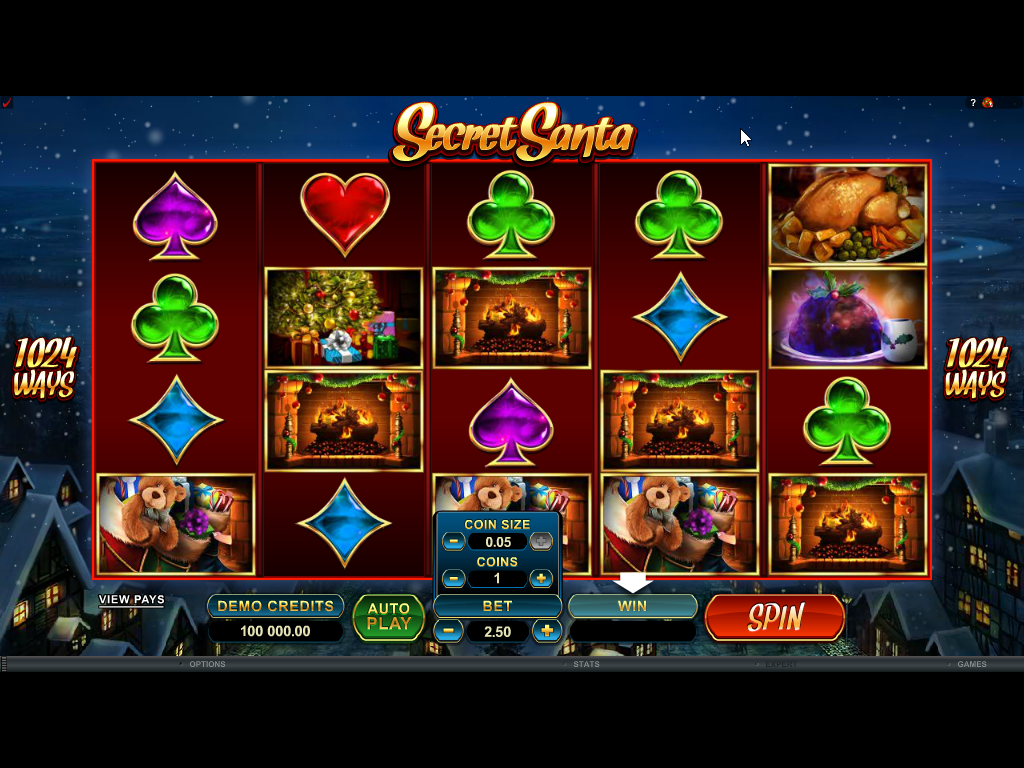 Secret Santa Slots Game Review