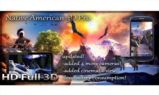 Native American 3D Pro Screenshot