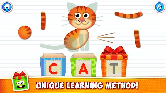Baby ABC in box Kids alphabet games for toddlers Mod Apk Download For Android 2