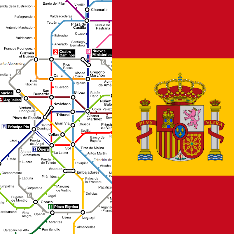 Map Of Spain For Android.Spain Madrid Metro Tourist Offline Map Android Apps Appagg