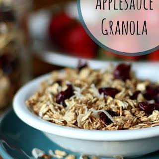 Easy, Healthy Applesauce Granola