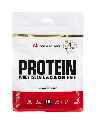 Nutramino Whey Protein 500g - Strawberry Dream