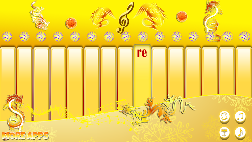 玩音樂App|Golden Dragon Kids Piano免費|APP試玩
