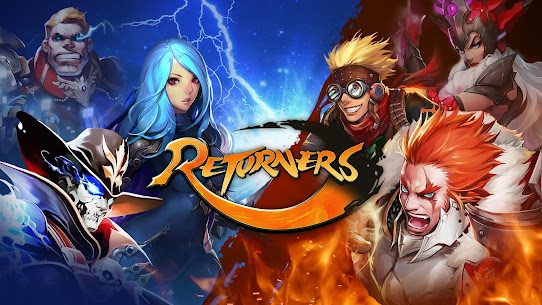 Returners 1.1.7 MOD (Unlimited Energy) 1