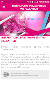 Download DT Barcamp meets YAM-Hackathon For PC Windows and Mac apk screenshot 1