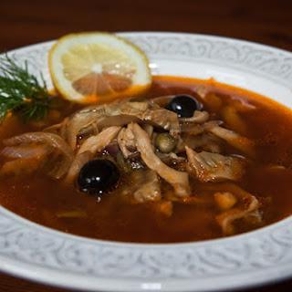 Mushroom Solyanka Soup