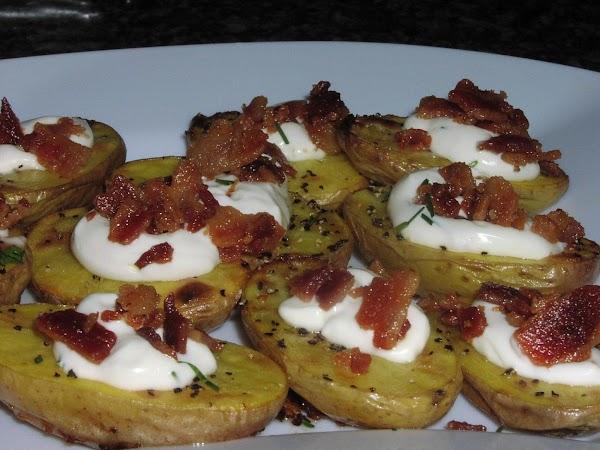 Baked Fingerling Potatoes Recipe