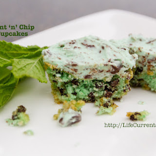 Mint 'N' Chip Cupcakes Recipe