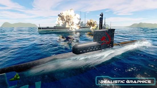 ruský podmořský - válečné loďstvo bitva křižník - náhled