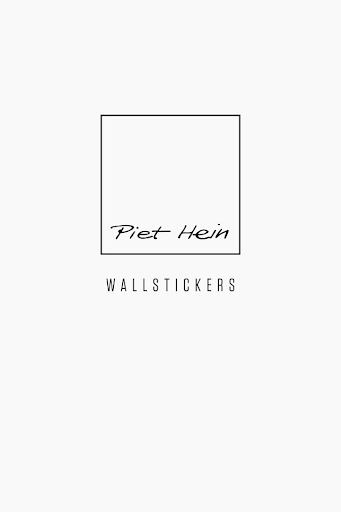 Piet Hein - Wallstickers