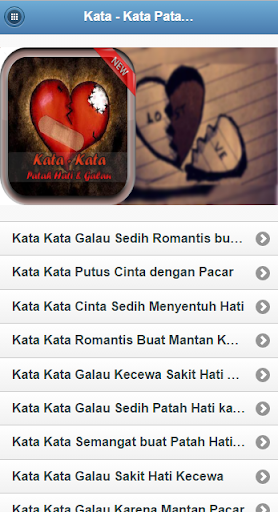 Kata Patah Hati Zona Curhat By Dudungpret Google Play Japan