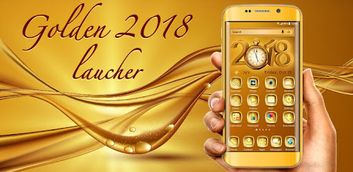 Launcher Golden New Year 2018 for PC