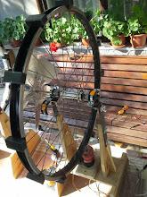 Photo: Second SSG - bigger wheel , steel wheel , less magnets