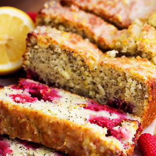 Lemon Raspberry Poppyseed Bread.