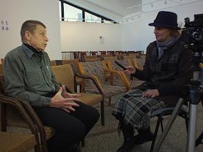 Photo: Grafiką Mikalojų Vilutį šnekino Diana Stungurienė, studija Gin-Dia. Pokalbis užfiksuotas dokumentinėje juostoje https://youtu.be/7ayo5Lh1v-I