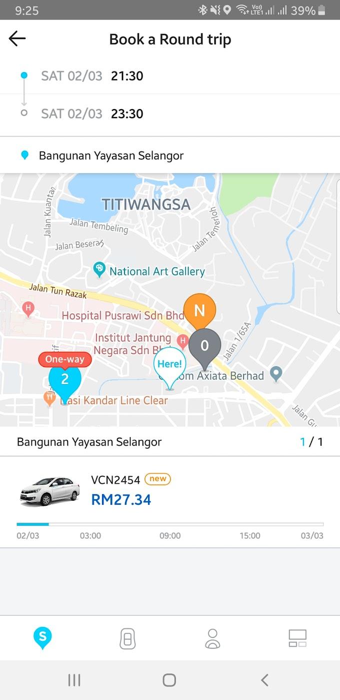 Car Rentals in Kuala Lumpur - SoCar vs GoCar