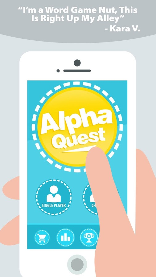 Alpha Quest- screenshot