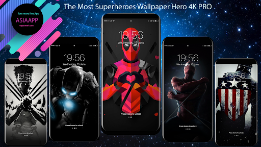 Superheroes Wallpapers 4K | HD Backgrounds Pro 1.0.1 screenshots 3